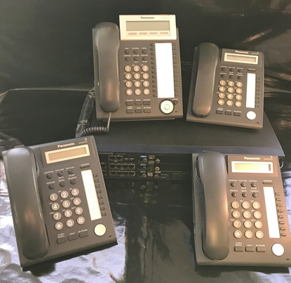 Panasonic KX-NCP500 System and 4 phones