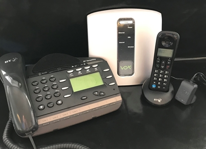 Telephone System and Phones