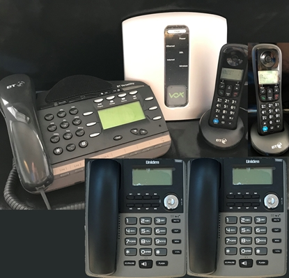 Phone System and 5 Phones